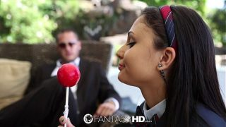 HD FantasyHD – Young college girl Ariana Marie is taught about sex